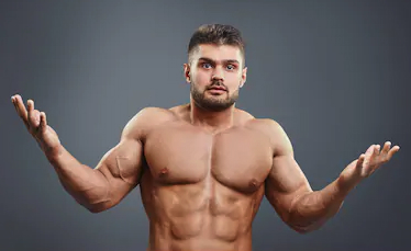 "a bodybuilder asking the question ""why using higher doses isn't a good idea?"""