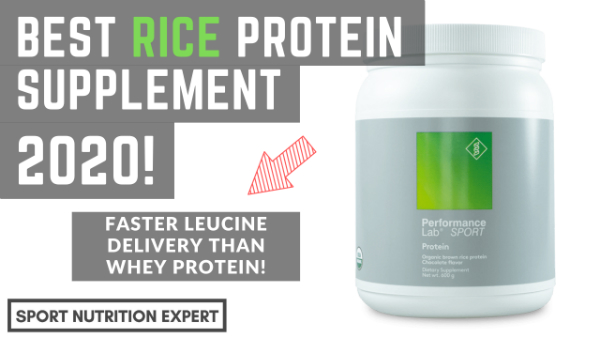 best organic rice protein supplement of 2020 is performance lab rice protein